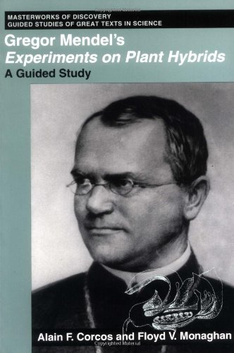 9780813519210: Gregor Mendel's Experiments on Plant Hybrids: A Guided Study