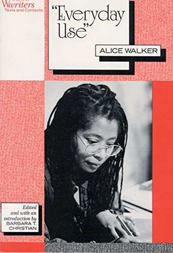 9780813520766: Everyday Use: Alice Walker (Women Writiers)