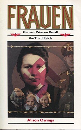9780813522005: Frauen: German Women Recall the Third Reich