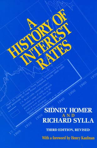 9780813522883: A History of Interest Rates