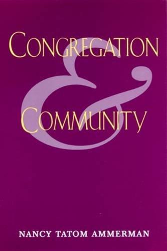 Congregation & Community: Nancy Tatom Ammerman,