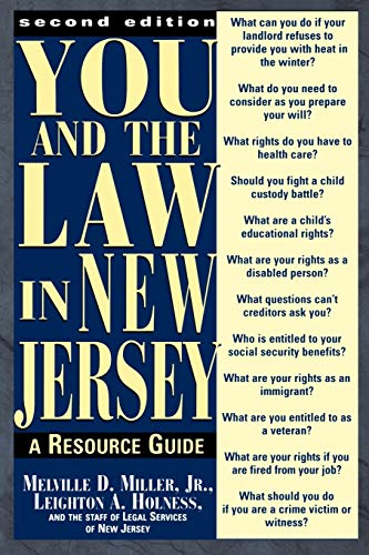 9780813525327: You and the Law in New Jersey: A Resource Guide