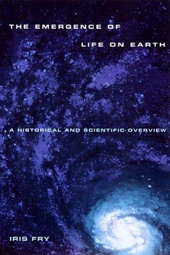 9780813527406: The Emergence of Life on Earth: A Historical and Scientific Overview