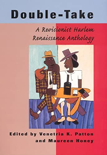 9780813529301: Double-Take: A Revisionist Harlem Renaissance Anthology