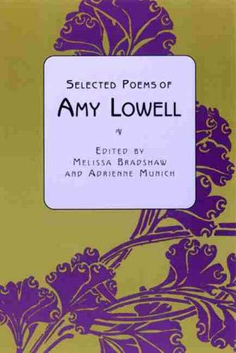 9780813531281: Selected Poems of Amy Lowell