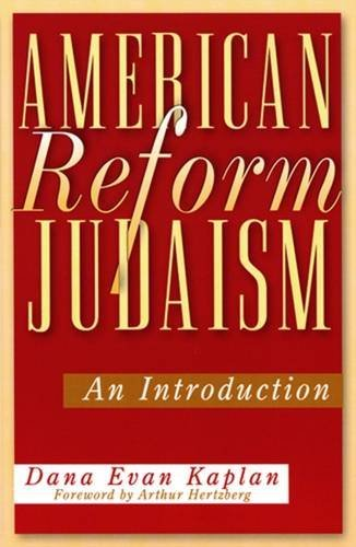 9780813532189: American Reform Judaism: An Introduction