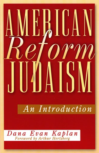9780813532196: American Reform Judaism: An Introduction