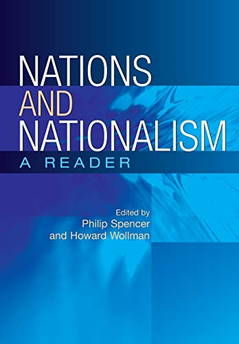 9780813536262: Nations and Nationalism: A Reader