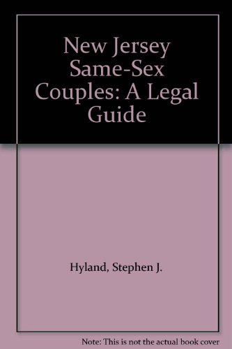 9780813541747: New Jersey Same-sex Couples: A Legal Guide