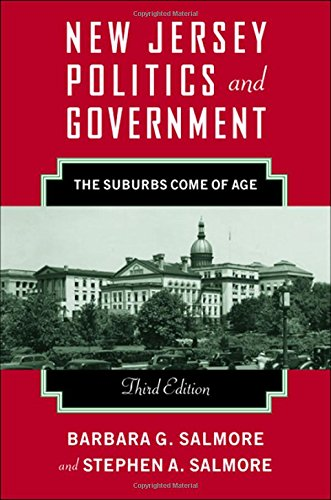 9780813542850: New Jersey Politics and Government: The Suburbs Come of Age