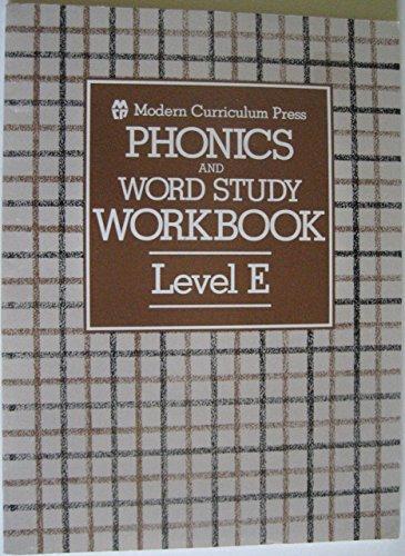 9780813601052: Phonics Workbook Level E