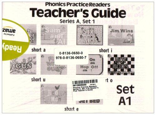 Phonics Practice Readers Teachers Guide Series A, Set 1: MODERN CURRICULUM PRESS