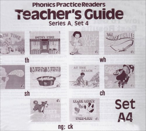 9780813606545: Phonics Practice Readers Teachers Guide Series A, Set 4