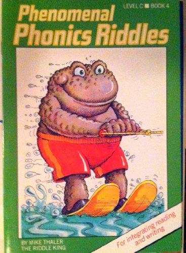 9780813608723: Phenomenal Phonics Riddles (Level C Book 4) Homonyms (Phonics Riddles)