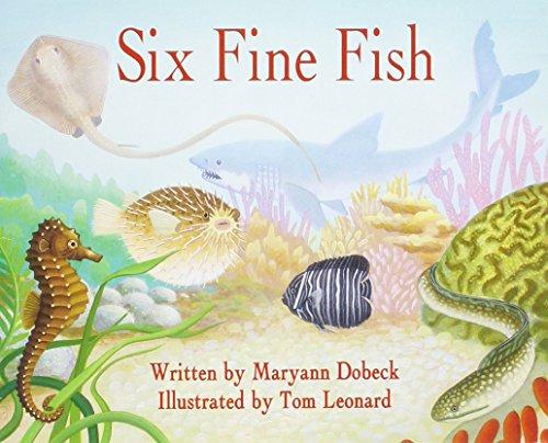 9780813608778: READY READERS, STAGE 3, BOOK 17, SIX FINE FISH, SINGLE COPY (Celebration Press Ready Readers)