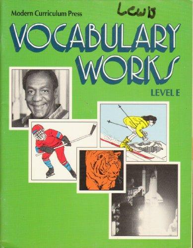 9780813616421: Vocabulary Works Level E