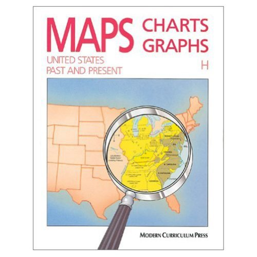 9780813621395: Maps, Charts, Graphs: United States, Past and Present, Level H
