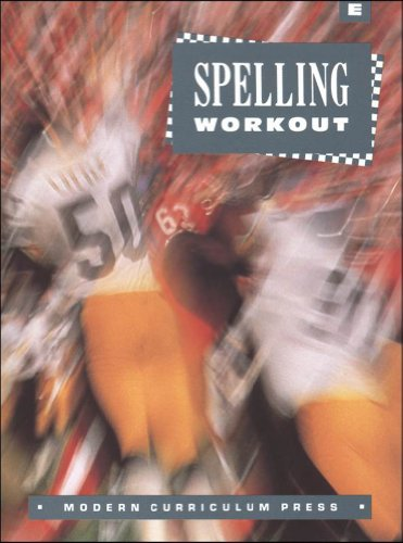 9780813628196: Spelling Workout: Level E, Student Edition