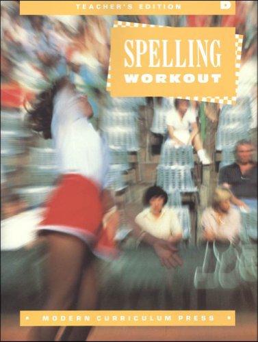 9780813628431: Spelling Workout Grade 4 (Teachers Edition)