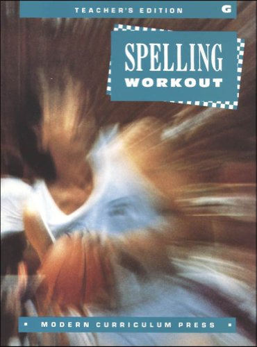 9780813628462: Spelling Workout Grade 7 (Teachers Edition)