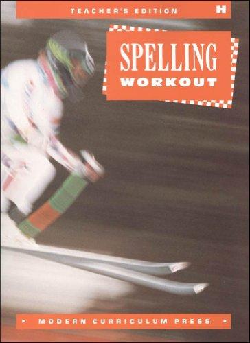9780813628479: Spelling Workout, Grade 8 (Teachers Edition)
