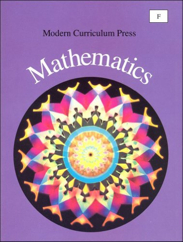 9780813631141: Modern Curriculum Press Mathematics, Level F