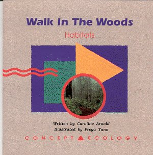 9780813647074: Walk in the Woods Habitats (Concept Ecology)