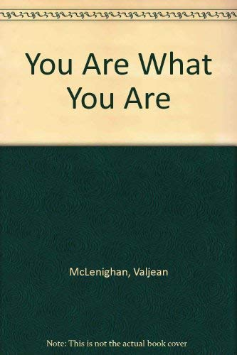 9780813650814: You Are What You Are