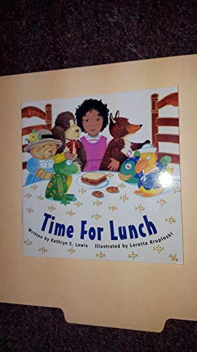 9780813653556: READY READERS, STAGE ZERO, BOOK 21, TIME FOR LUNCH, SINGLE COPY (Celebration Press Ready Readers)