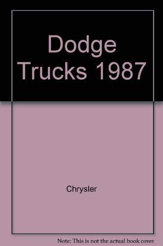9780813707006: Dodge Trucks 1987