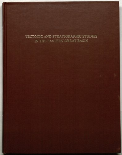 9780813711577: Tectonic and stratigraphic studies in the Eastern Great Basin (Memoir / Geological Society of America)