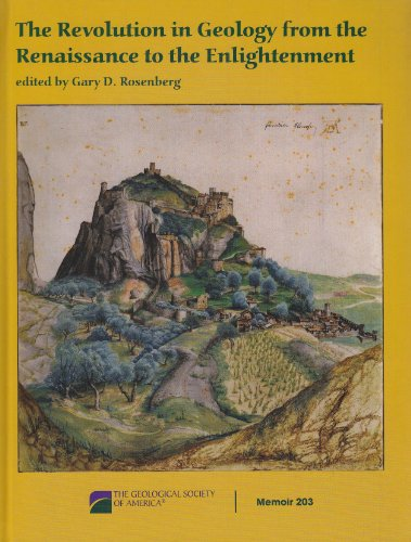 9780813712031: The Revolution in Geology from the Renaissance to the Enlightenment (Memoir)