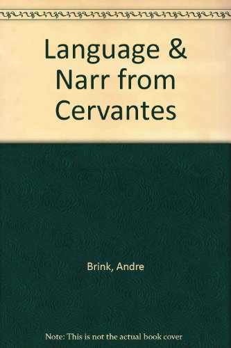 9780813713304: The Novel: Language and Narrative from Cervantes to Calvino