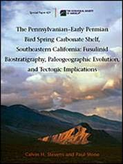 9780813724294: The Pennsylvanian-Early Permian Bird Spring Carbonate Shelf, Southeastern California: Fusulinid Biostratigraphy, Paleogeographic Evolution, and ... Paper (Geological Society of America))