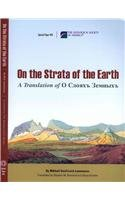 9780813724850: On the Strata of the Earth: A Translation of O sloiakh zemnykh (Special Paper)
