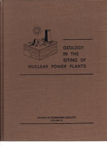 Reviews in Engineering Geology: Geology in the