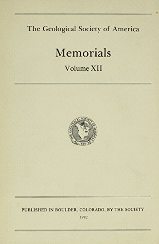 Memorials (Geological Society of America//Memorials): Geological Society of