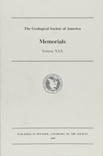 Geological Society of America: Memorials
