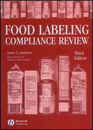 9780813800165: Food Labeling Compliance Review