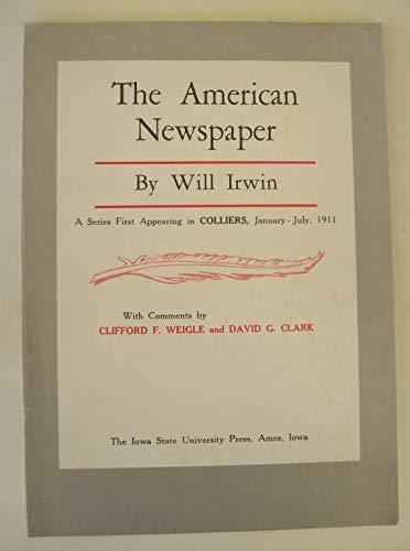 9780813800950: The American newspaper