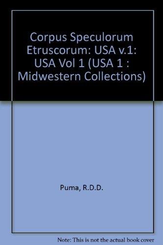 9780813803630: 001: Corpus Speculorum Etruscorum (USA 1 : Midwestern Collections)