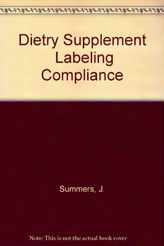 9780813804071: Dietary Supplement Labeling Compliance Review (American Concrete Institute monograph)