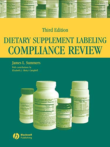 9780813804262: Dietary Supplement Labeling Compliance Review