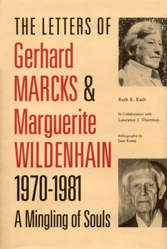 9780813805047: Letters of Gerhard Marcks and Marguerite Wildenhain, 1970-81: A Mingling of Souls