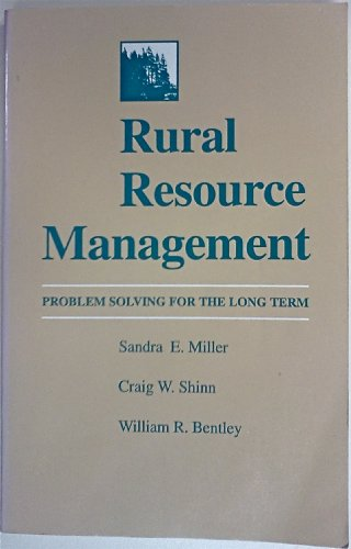 9780813806860: Rural Resource Management: Problem Solving for the Long Term