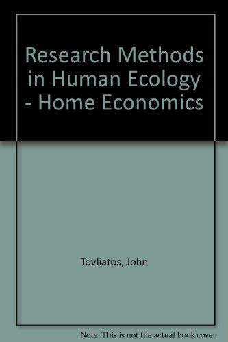 9780813807195: Research Methods in Human Ecology/Home Economics