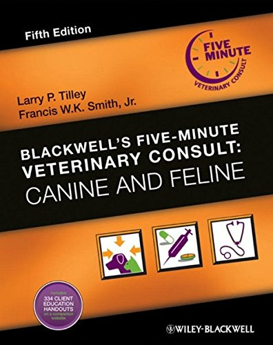 9780813807638: Blackwells Five-Minute Veterinary Consult: Canine and Feline