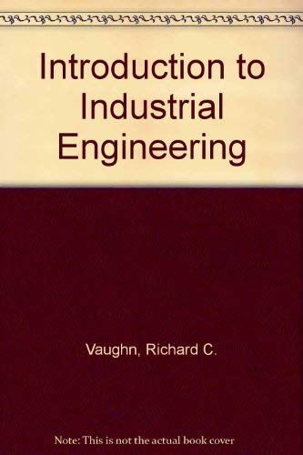9780813808321: Introduction to Industrial Engineering