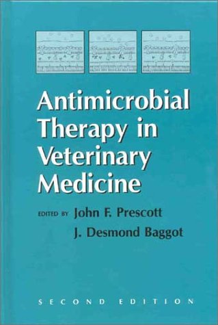 9780813808895: Antimicrobial Therapy in Veterinary Medicine