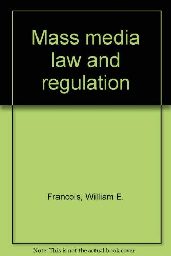 9780813809687: Mass media law and regulation